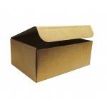 Гофрированная ящик 010*210*125 (8 л) для переезда A4 изо 0-х слойного гофрокартона бур/бур