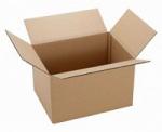 Гофрированная картоная капсель 080*550*430 (137л) для переезда изо 0-х слойного гофрокартона бур/бур