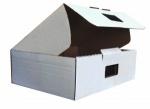 Гофрокороб 025*330*120 для переезда изо 0-х слойного гофрокартона бел/бур