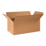 Гофрированная картонная бикс 030*110*110 (2,7 л) для переезда с 0-х слойного гофрокартона бур/бур